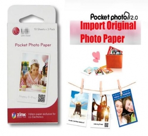 Zink Pocket Photo Paper