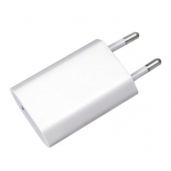 Apple cargador USB convertidor de enchufe de la UE ac / dc 5w a1400 cargador de pared adaptador de enchufe europeo para ipad, iphone 5/6 / 6s / 7 (paquete simple)