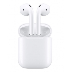 Auriculares inalámbricos genuinos Apple Airpods Auriculares Bluetooth originales de Apple para iPhone XS Max XR 7 8 Plus accesorio