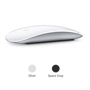 Apple Magic Mouse 2 | Wireless Mouse for Mac Book Macbook Air Mac Pro Ergonomic Design Multi Touch Rechargeable Bluetooth Mouse