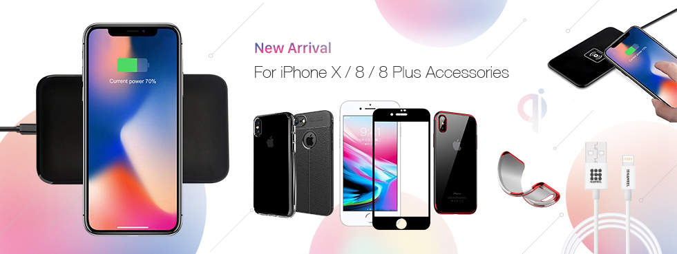 New Arrival:for iphone X  /8/8 plus Accessories